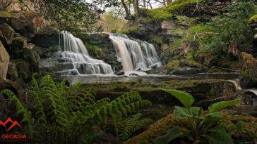 Водопад в Грузии