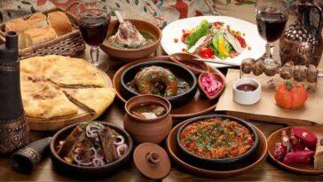 Грузинские блюда из мяса