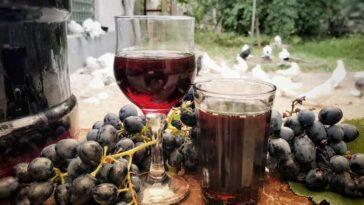 Грузинское домашнее вино