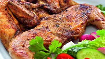 Как готовят знаменитое блюдо грузинской кухни цыпленок табака