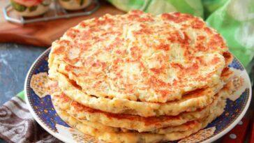 Ленивые хачапури с сыром и творогом на сковороде