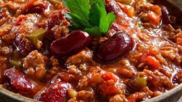 Лобио из красной фасоли с томатной пастой